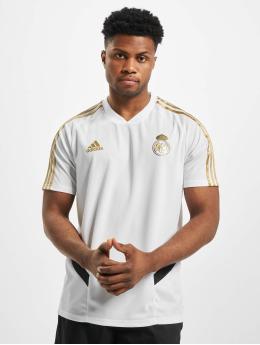 adidas Performance Maillot de Football Real Madrid Training blanc