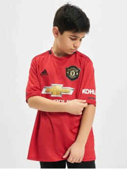 adidas Performance Maillot de Football Manchester United Home rouge