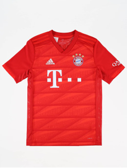 adidas Performance Maillot de Football FC Bayern Home Jersey rouge