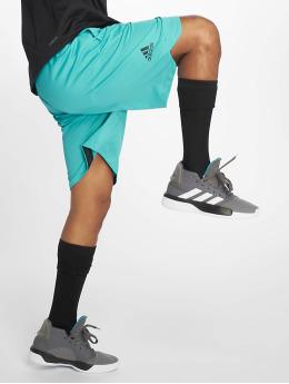 adidas Performance Pantaloncini da basket ACT 3S turchese