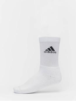 adidas Performance Ponožky Harden BB bílý