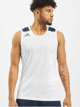 adidas Performance Shirts de Sport Game blanc