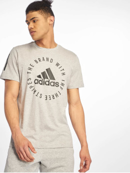 adidas Performance Shirts de Sport Sid  gris