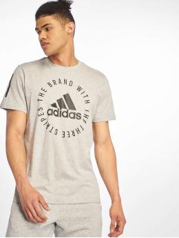 adidas Performance Shirts sportive Sid  grigio
