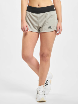 adidas Performance Shorts sportivi 2in1 Soft Touch grigio
