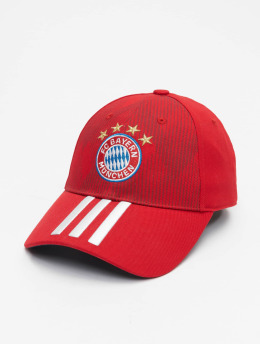 adidas Performance Snapbackkeps FC Bayern München 3S röd