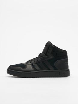 adidas Performance sneaker Hoops 2.0 Mid zwart