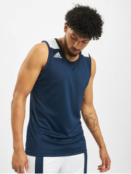 adidas Performance Sport Shirts Game  blauw