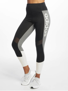 adidas Performance Sportleggings D2M LO HR 78 T  svart