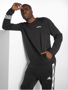 adidas Performance Sportshirts Simple  čern