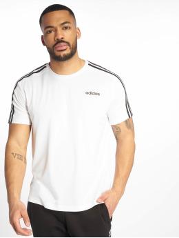 adidas Performance Sportshirts ClimaLite Logo bialy