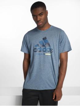 adidas Performance Sportshirts Logo blau