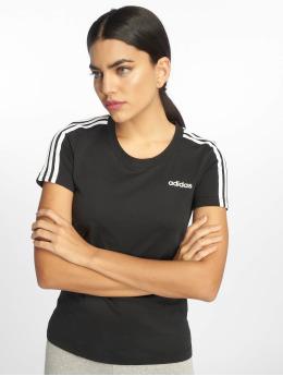adidas Performance Sportshirts 3S Slim czarny