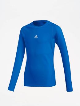 adidas Performance Sportshirts Alphaskin  modrá