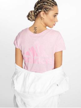 adidas Performance Sportshirts Winners pink