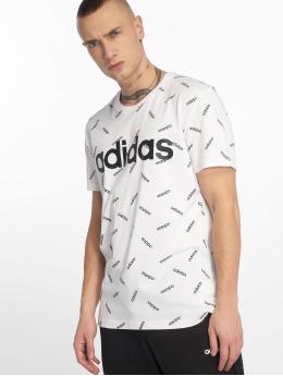 adidas Performance T-paidat AOP valkoinen