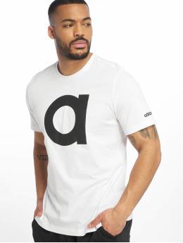 adidas Performance T-Shirt Brand  blanc
