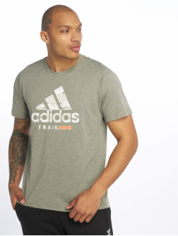 adidas Performance T-Shirt Logo khaki