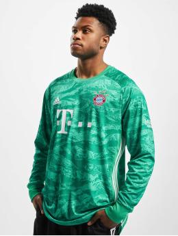 adidas Performance T-Shirt manches longues FC Bayern Home Goalkeeper vert