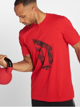 adidas Performance T-Shirt Dame Logo rot