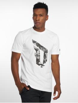 adidas Performance T-Shirt Dame Logo white
