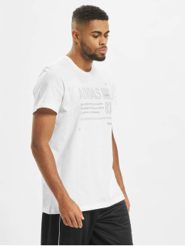 adidas Performance t-shirt Lineage ID wit
