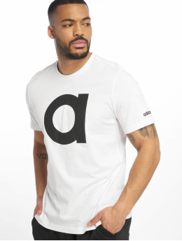 adidas Performance t-shirt Brand  wit