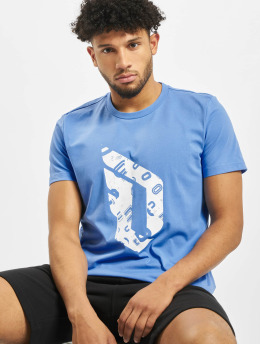 adidas Performance T-shirts Dame Logo blå