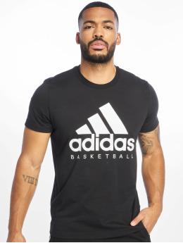 adidas Performance T-Shirty GFX czarny