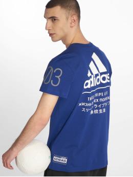 adidas Performance T-Shirty 360 niebieski