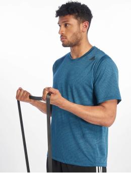 adidas Performance T-Shirty Tec niebieski