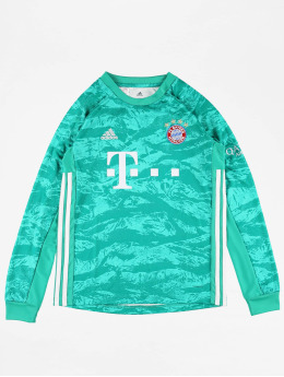 adidas Performance T-Shirty FC Bayern Home zielony