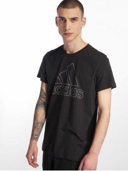 adidas Performance T-skjorter BOS svart