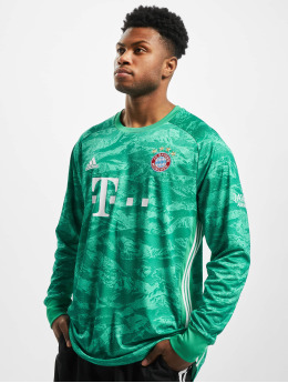 adidas Performance Tričká dlhý rukáv FC Bayern Home Goalkeeper zelená