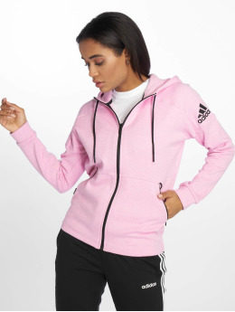 adidas Performance Zip Hoodie Stadium pink
