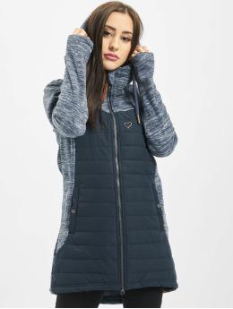 Alife & Kickin Prechodné vetrovky Charlotte Downlook Fleece modrá