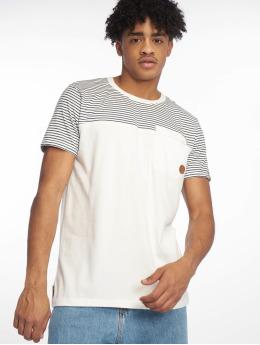 Alife & Kickin T-paidat Leo S valkoinen