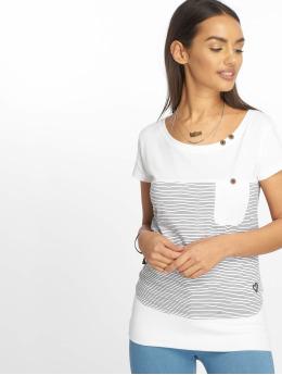Alife & Kickin T-paidat Cora B valkoinen
