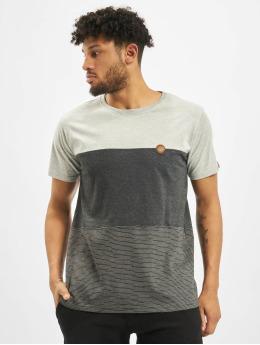 Alife & Kickin t-shirt Ben B grijs