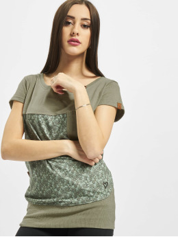 Alife & Kickin t-shirt Cora  groen