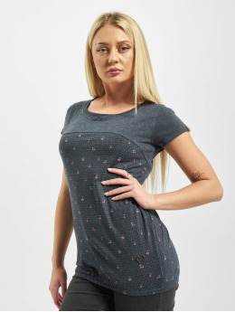 Alife & Kickin T-Shirty Clarice  niebieski