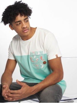 Alife & Kickin T-Shirty Leo A turkusowy