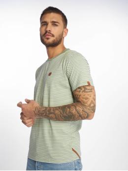 Alife & Kickin T-Shirty Nic A zielony