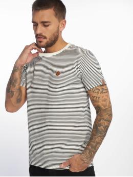 Alife & Kickin T-skjorter Nic A hvit