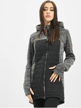 Alife & Kickin Übergangsjacke Charlotte Downlook Fleece grau
