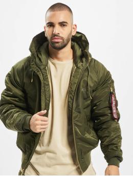Alpha Industries Зимняя куртка N2-B VF PM зеленый
