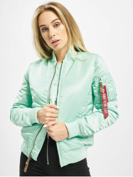 Alpha Industries Куртка-бомбардир Ma 1 VF 59 Women зеленый