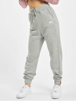 Alpha Industries Спортивные брюки Basic  серый