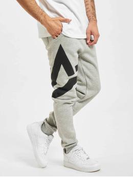 Alpha Industries Спортивные брюки Side Logo серый