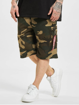 Alpha Industries Шорты X-Fit Cargo Camo  камуфляж